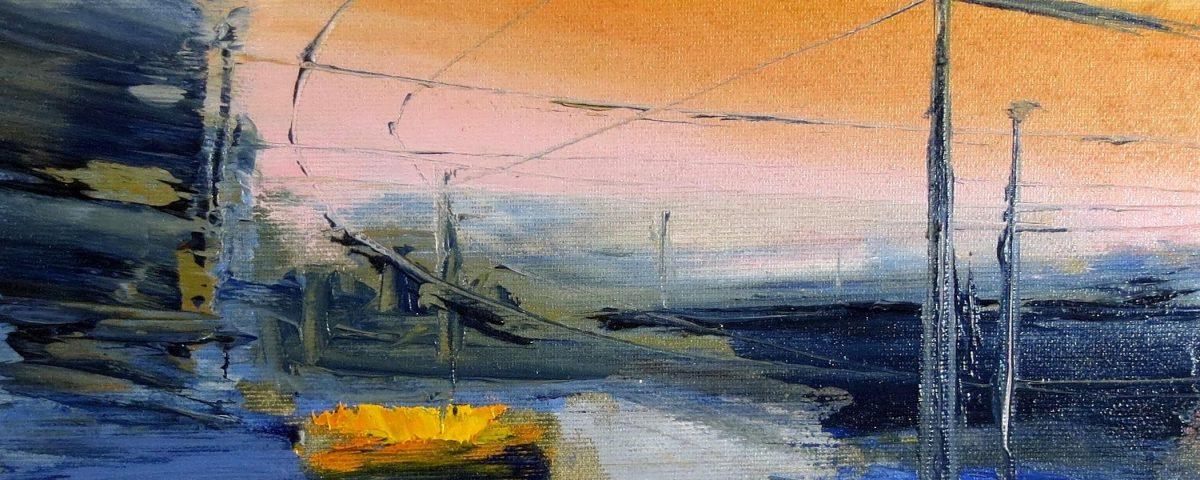 Piazza Bottini, 24x30cm, olio su tela def