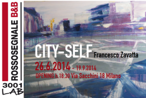 Mostra personale City-Self - Francesco Zavatta