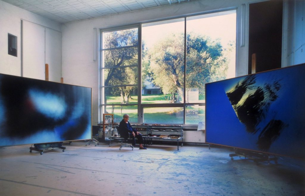 Studio dell'artista Hans Hartung