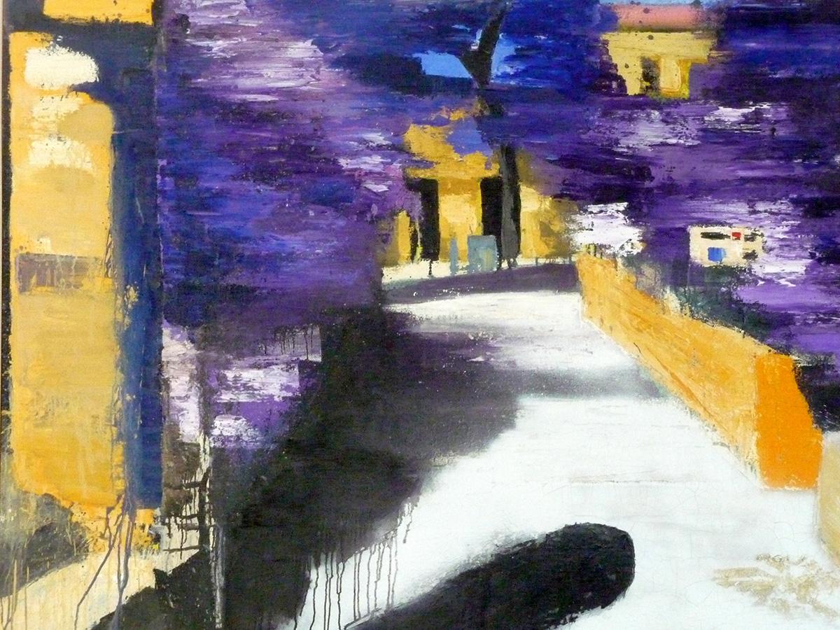 2009 - All'Imprevisto di Pesaro, 150x180cm, olio su tela