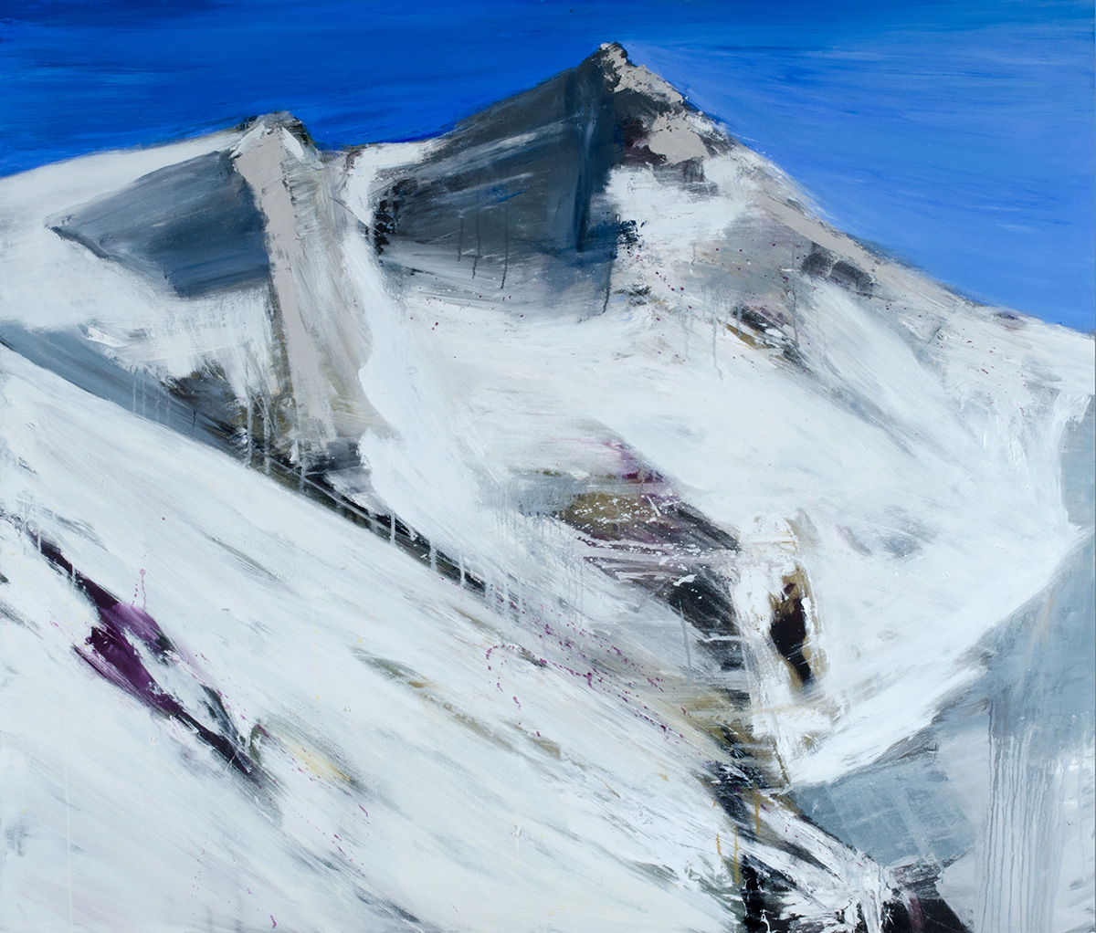 Francesco Zavatta 2014 - Pizzo dei Tre Signori, 120x140cm, oil on canvas