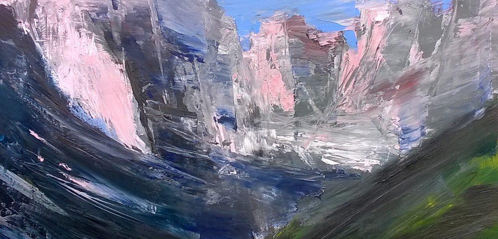 2015-Dolomiti-del-Brenta-70x70cm-olio-su-tela