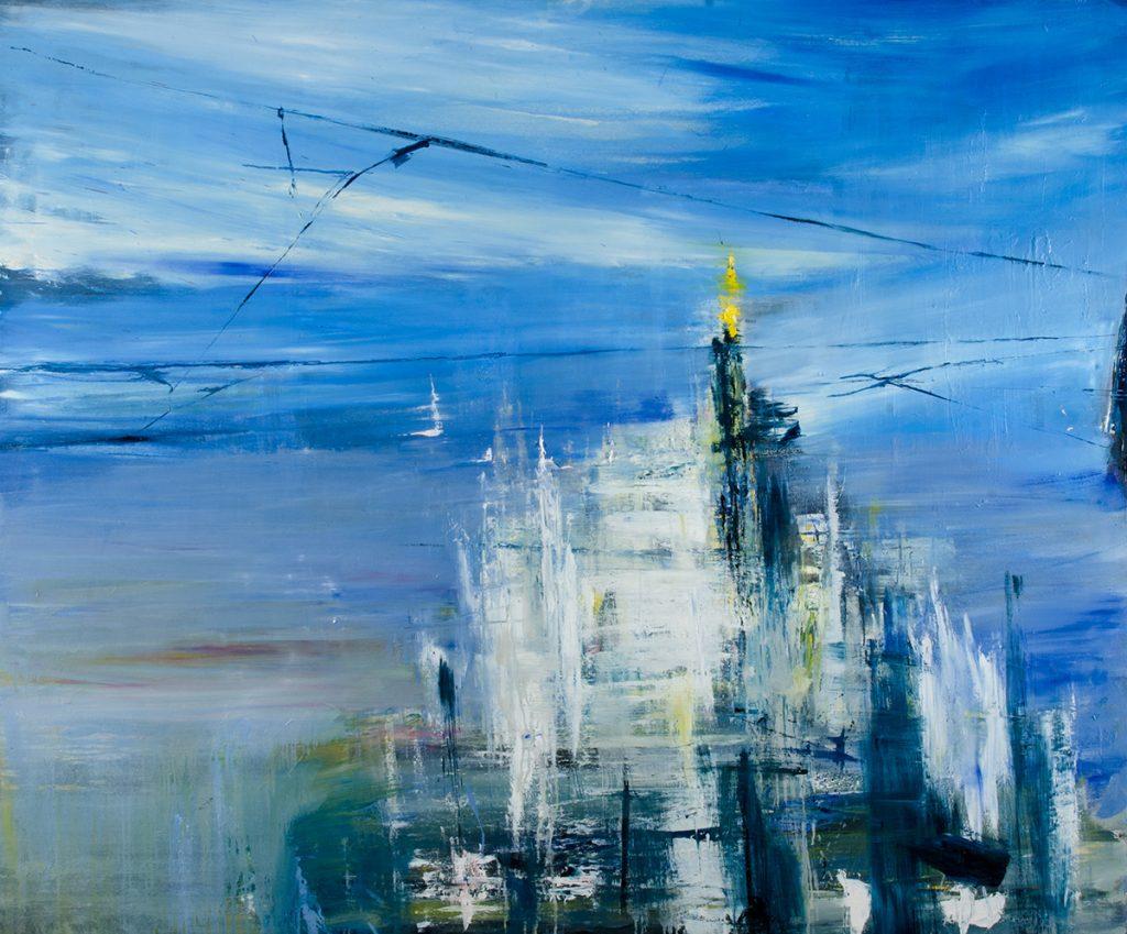 2015 - Duomo, 150x180cm, olio su tela