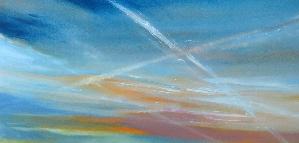 2015 - Squarci di luce, 120x120cm, olio su tela