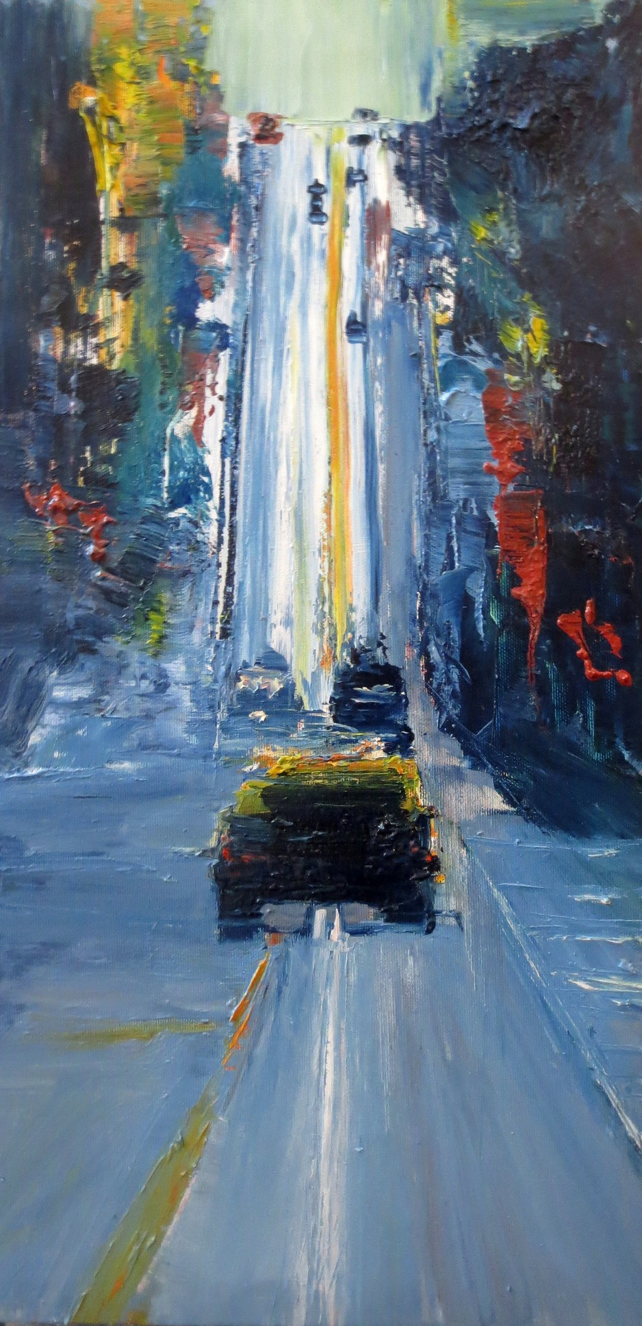 taxi, sfo,san francisco, cityscape