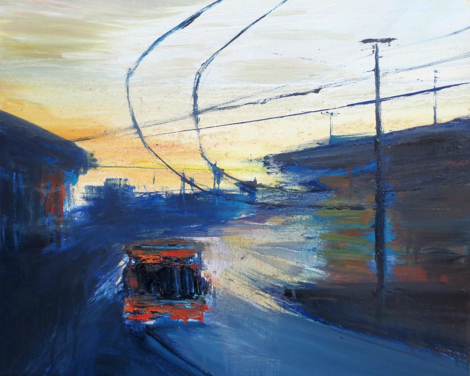 2017 Piazza Bottini 50x6cm-oil-on-canvas