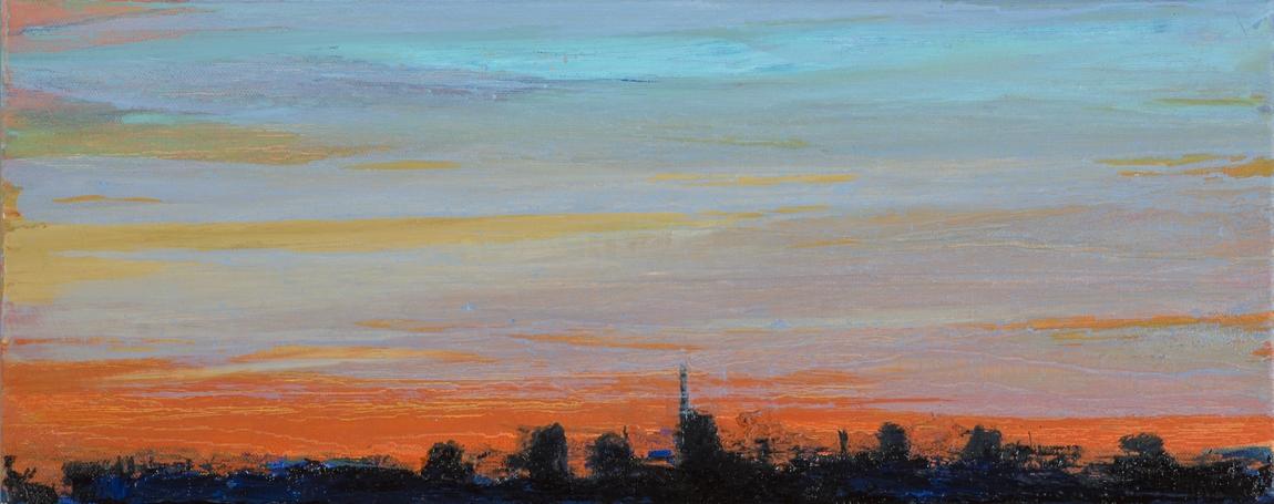 2017 Skyline 20x50cm-oil-on-canvas