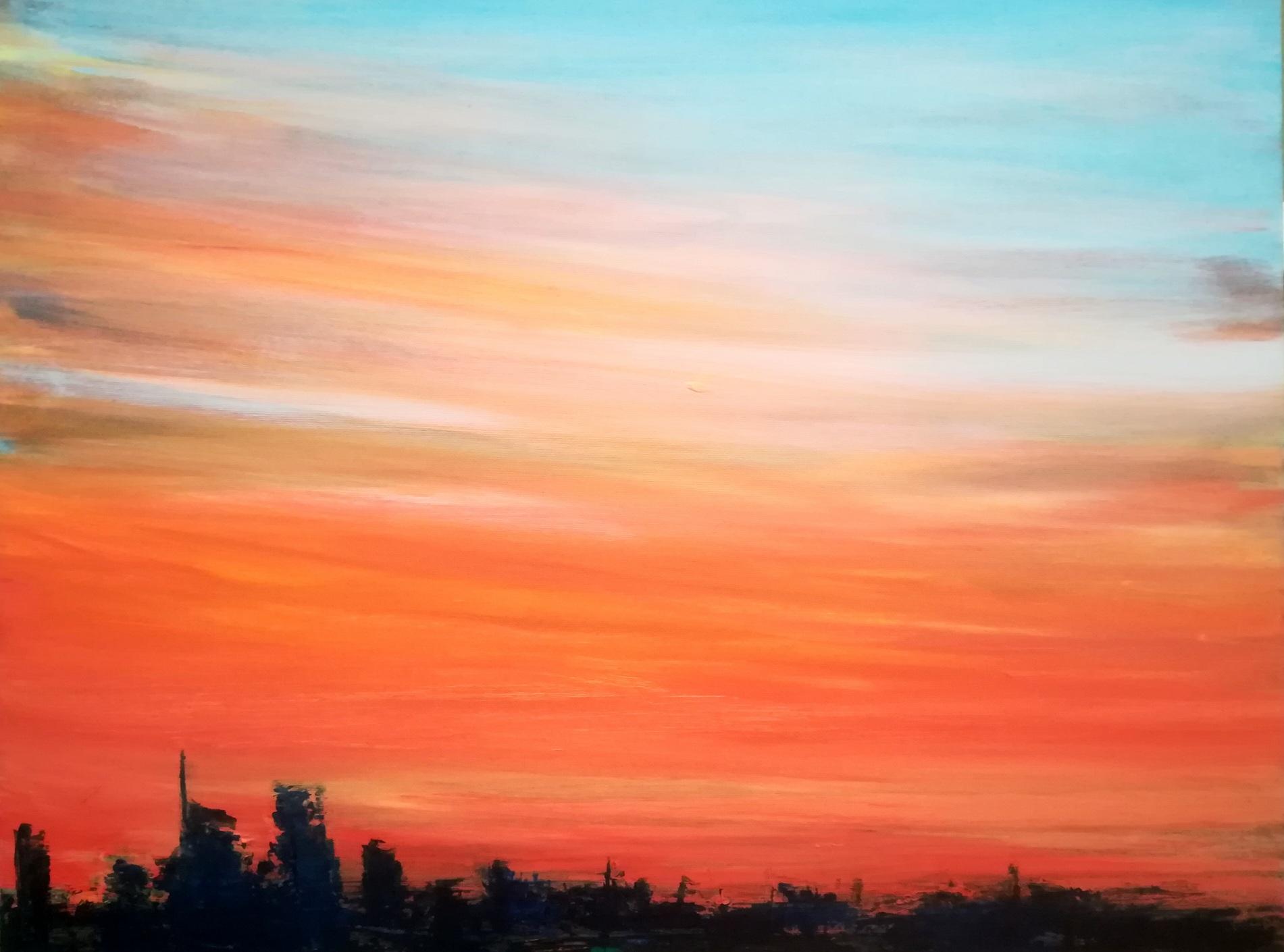 2017-Skyline-60x80cm-oil-on-canvas