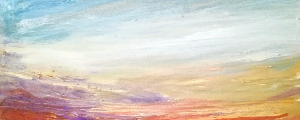 Francesco-Zavatta-Milano-Skyline-30x30cm-olio-su-tela