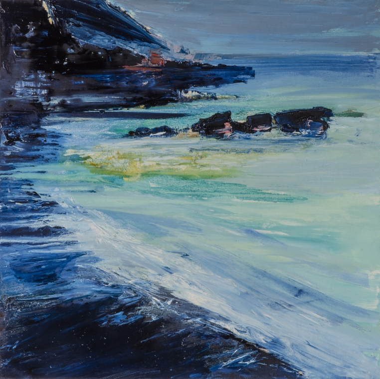 Francesco-Zavatta-2016 Camogli 80x80cm oil on canvas