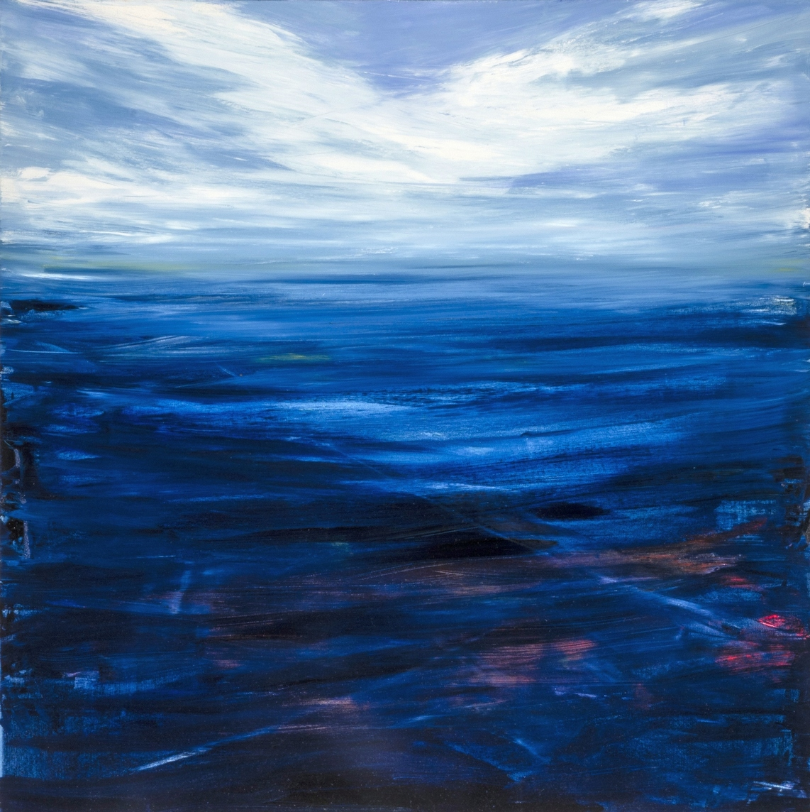 Francesco-Zavatta-2018 Oceano 100x100cm oil on canvas