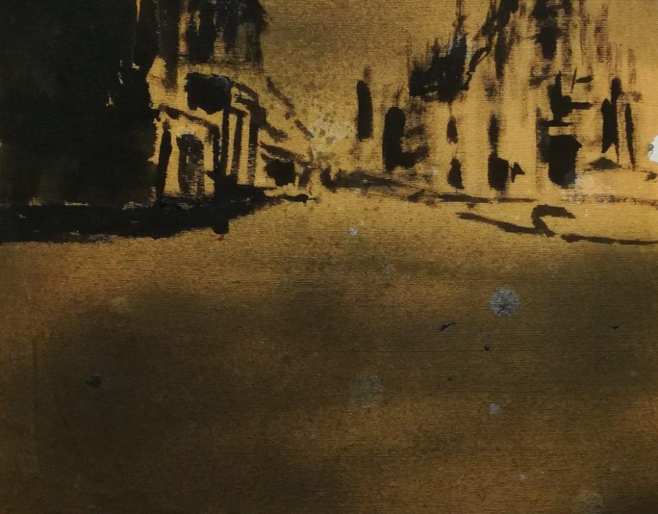 Francesco-Zavatta-2019-Duomo-Milano-40x30cm-tecnica-mista-su-tela