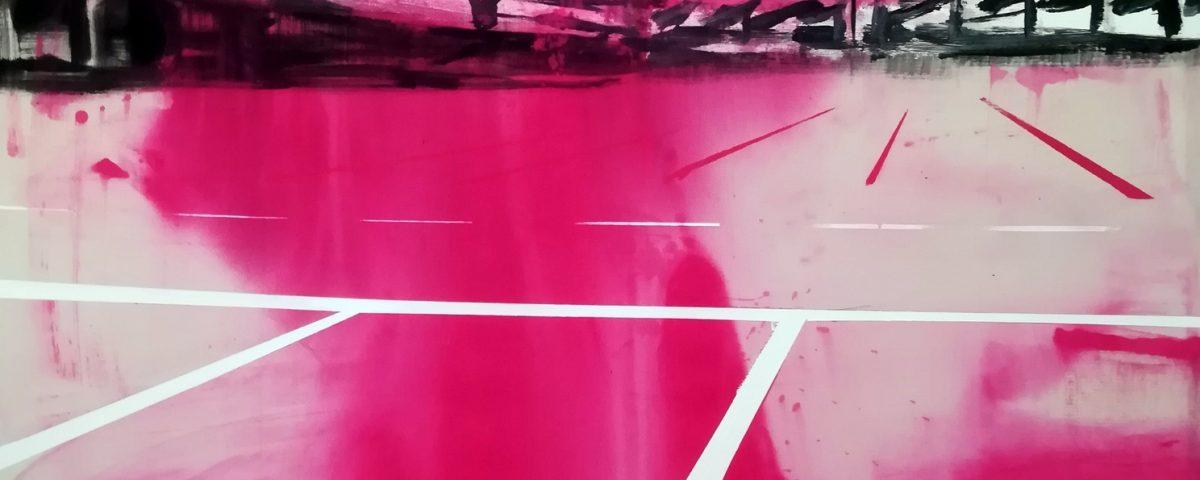 2019-Parcheggio-180x140cm-tecnica-mista-su-tela