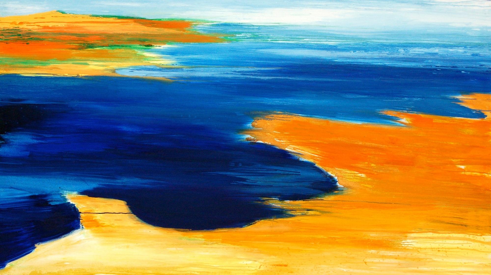 2010 Islanda 150x250cm olio su tela