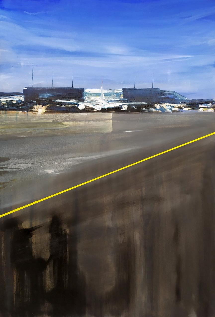 2020-Airport-115x80cm-olio-su-tela