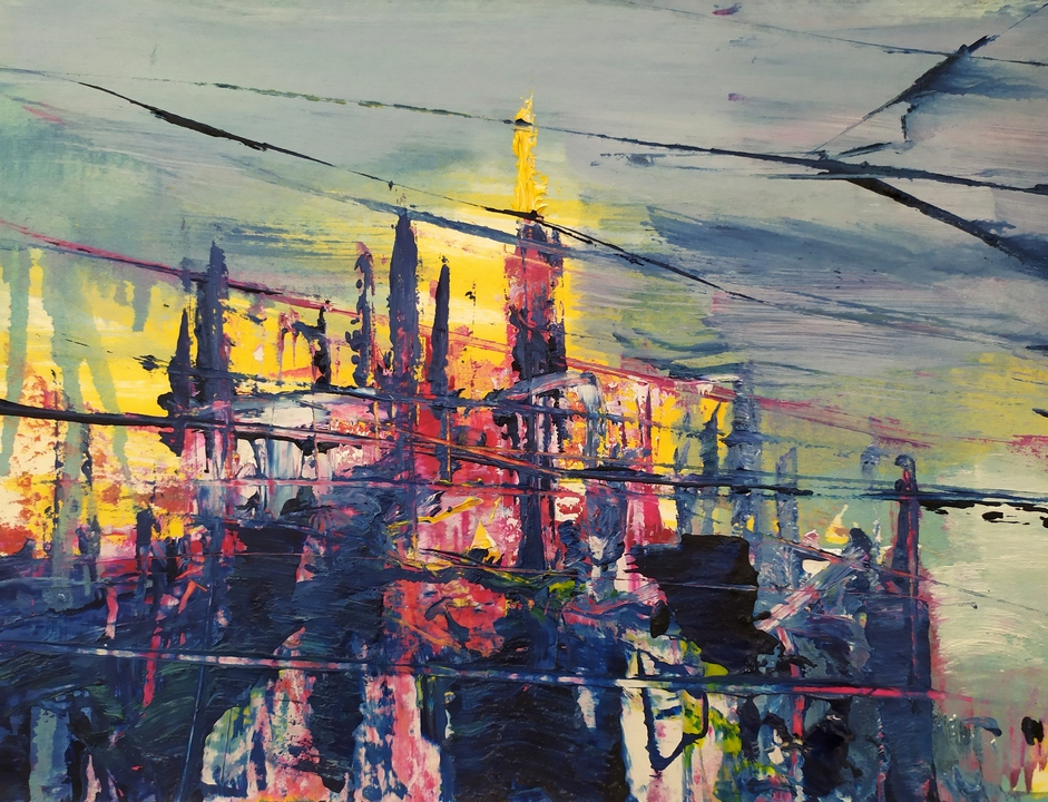 2020 Duomo 24x32cm olio su carta rid