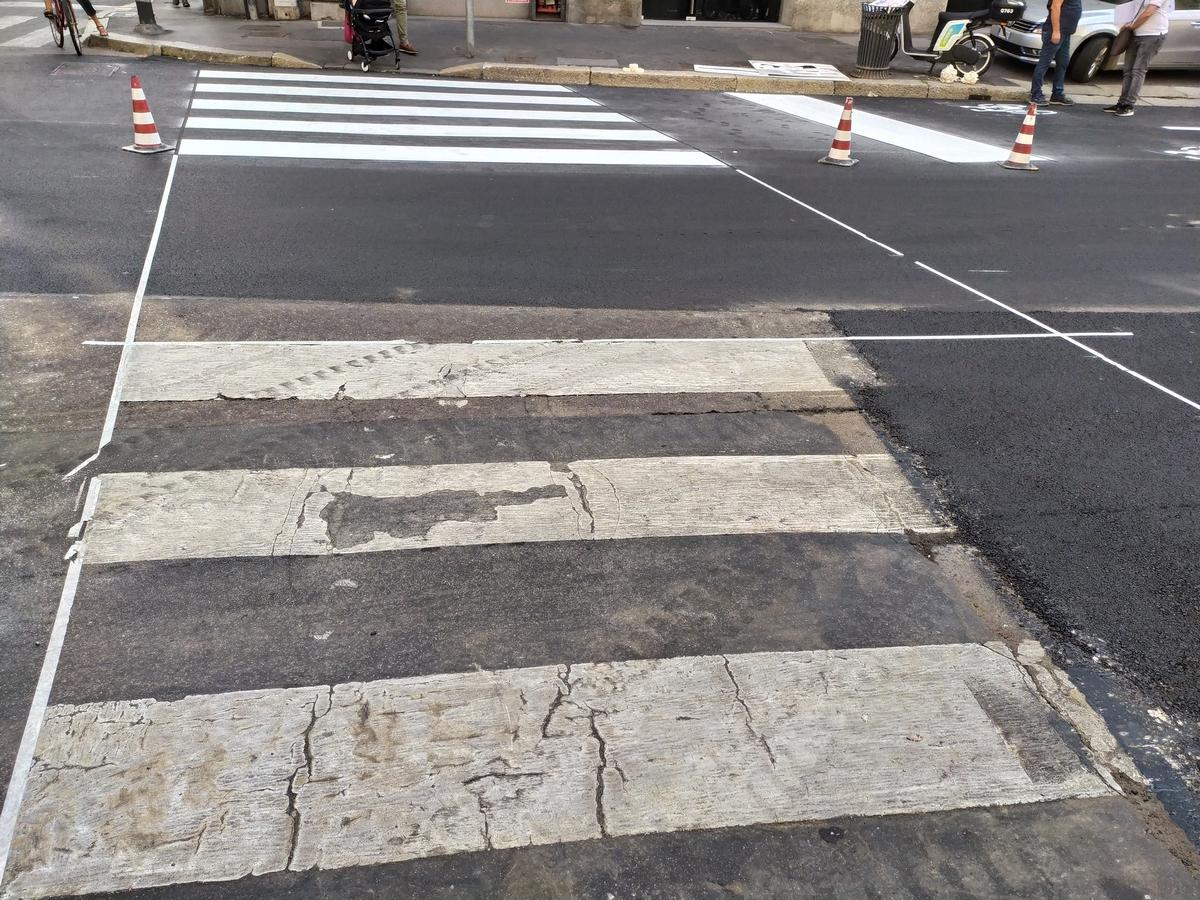 2020 Milano segnaletiche stradali