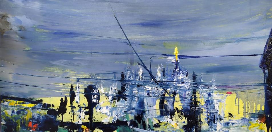 2020 Duomo 30x60cm olio su tela