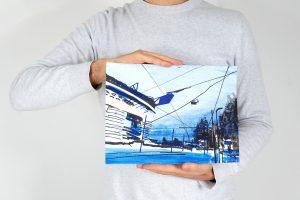 San Siro Blu 24x32cm esempio proporzioni 1
