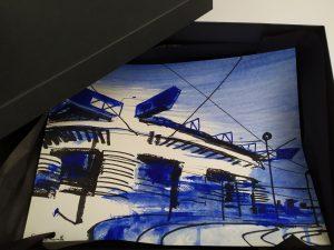 San Siro blu 24x32cm esempio confezione