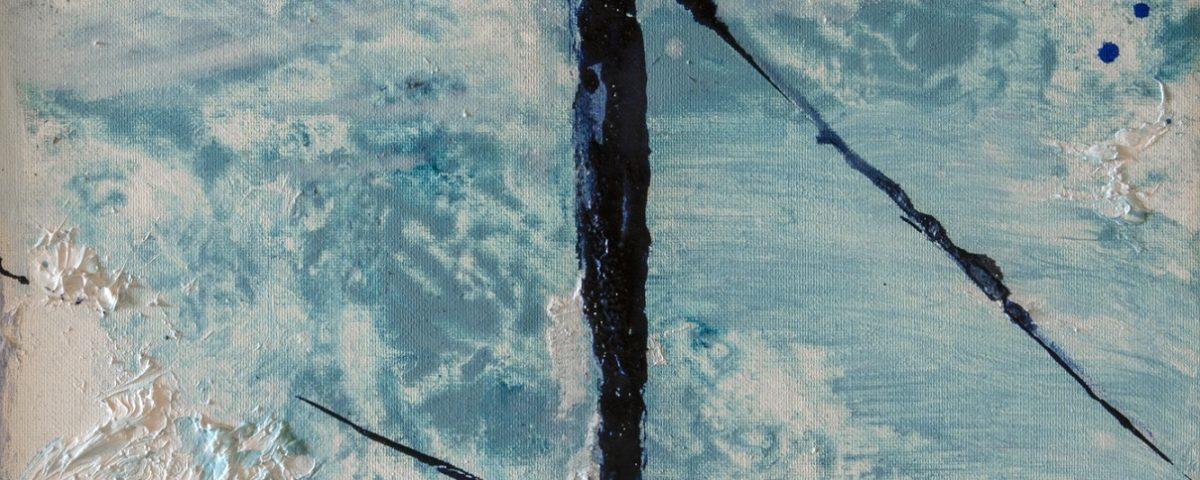 2021 Attracco 20x20cm olio su tela