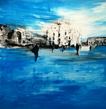 2019-Piazza-Duomo-200x200cm-mixed-media-on-canvas
