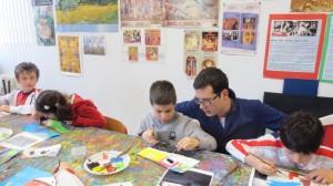 Laboratorio - Dipingere la città, scuola primaria Arca, Legnano 2