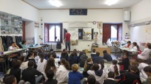 Laboratorio Dipingere la citt…à, scuola primaria Corbetta
