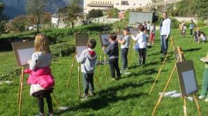 Laboratorio Occhi spalancati, scuola primaria La Sacra Famiglia, Trento 2