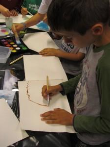 Laboratorio di pittura estivo, La Thuile 3